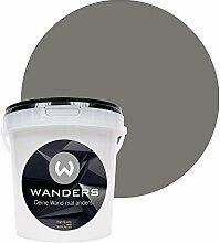 Wanders24 Tafelfarbe (1Liter, Beton-Grau) matte