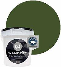 Wanders24® Tafelfarbe (1Liter, Khaki Grün)
