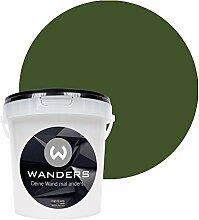 Wanders24 Tafelfarbe (1Liter, Khaki Grün) matte