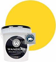 Wanders24® Tafelfarbe (1Liter, kräftige Zitrone)