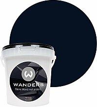 Wanders24 Tafelfarbe (1Liter, Schwarz) matte