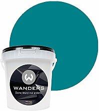 Wanders24 Tafelfarbe (1Liter, Türkis) matte