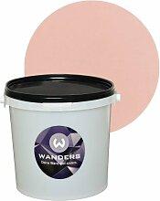 Wanders24 Tafelfarbe 3L. (Japan Rosé) matt Tafel-Farbe chalkboard Wand-Farbe, Wandfarbe Tafel-Lack, Tafellack