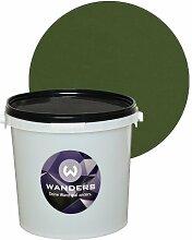 Wanders24 Tafelfarbe 3L. (Khaki Grün) matt Tafel-Farbe chalkboard Wand-Farbe, Wandfarbe Tafel-Lack, Tafellack