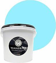 Wanders24 Tafelfarbe (3Liter, Himmelblau) matte