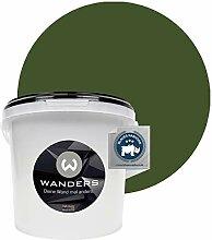 Wanders24® Tafelfarbe (3Liter, Khaki Grün)