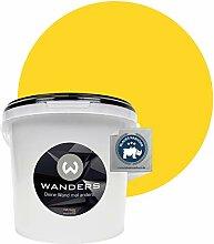 Wanders24® Tafelfarbe (3Liter, kräftige Zitrone)