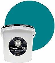 Wanders24 Tafelfarbe (3Liter, Türkis) matte