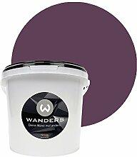 Wanders24 Tafelfarbe (3Liter, Violett) matte Wandfarbe in 15 Farbtönen erhältlich, individuelle Gestaltung für Zuhause, Farbe made in Germany