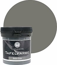 Wanders24 Tafelfarbe (80ml, Beton-Grau) matte