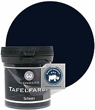 Wanders24® Tafelfarbe (80ml, Schwarz) Blackboard