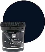 Wanders24 Tafelfarbe (80ml, Schwarz) matte