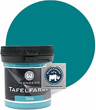 Wanders24® Tafelfarbe (80ml, Türkis) Blackboard