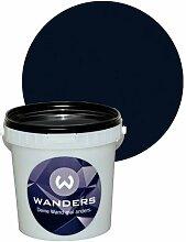 Wanders24 Tafelfarbe matt (1 Liter, Schwarz) Wandfarbe, Tafelwand-farbe, abwaschbar, kreativ, beschreibbar, Tafel-farbe, Tafellack, Tafel-lack, Wand-farbe, Tafel Wand