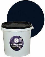 Wanders24 Tafelfarbe matt (3 Liter, Schwarz) Wandfarbe, Tafelwand-farbe, abwaschbar, kreativ, beschreibbar, Tafel-farbe, Tafellack, Tafel-lack, Wand-farbe, Tafel Wand