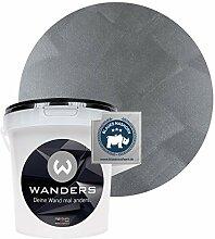 Wanders24® Tafelfarbe Metallic-Grau (1 Liter)