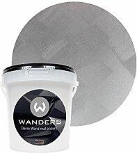 Wanders24 Tafelfarbe Metallic-Grau (1 Liter)