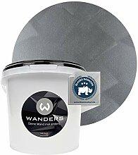 Wanders24® Tafelfarbe Metallic-Grau (3 Liter)