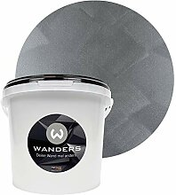 Wanders24 Tafelfarbe Metallic-Grau (3 Liter)