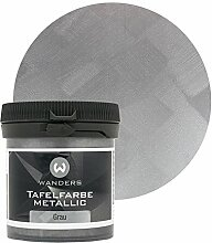 Wanders24 Tafelfarbe Metallic-Grau (80 ml)