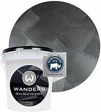 Wanders24® Tafelfarbe Metallic-Schwarz (1 Liter)
