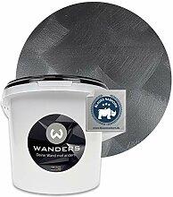 Wanders24® Tafelfarbe Metallic-Schwarz (3 Liter)