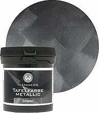 Wanders24 Tafelfarbe Metallic-Schwarz (80 ml)