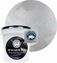 Wanders24 Tafelfarbe Metallic-Silber (1 Liter)