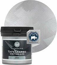 Wanders24 Tafelfarbe Metallic-Silber (80 ml)