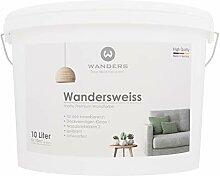 Wanders24 Wandersweiss (10 Liter, Weiß) matte