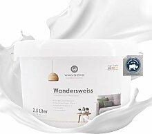 Wanders24® Wandersweiss (2,5 Liter, Weiß)