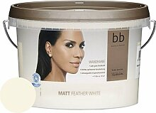 Wandfarbe b.b Barbara Becker Feather White 2,5 l