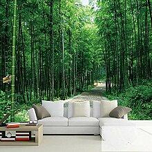 Wandfarbe, chinesische Landschaft, Bambuswald,