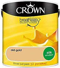 Wandfarbe Crown Silk Emulsion, 2,5L - Farbe: Old