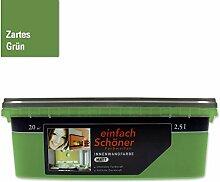 Wandfarbe innen matt 2,5 l von einfach schöner Farbwelten (Zartes Grün)