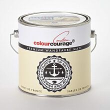 Wandfarben - colourcourage® Premium Wandfarbe matt Sables de France