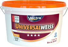 Wandfarben - Wandfarbe Vectra Universal weiss matt