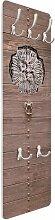 Wandgarderobe Altes andalusisches Holztor mit