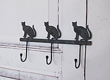 Wandgarderobe CAT, Garderobe, Hakenleiste antik