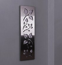 Wandgarderobe/Garderobe, Design Leaves, 140x40cm,