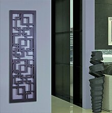 Wandgarderobe/Garderobe Design Quadrat, 140x40x2