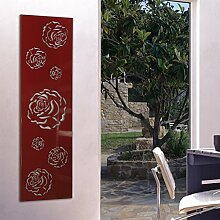 Wandgarderobe/Garderobe, Design Rose, 140x40x2 cm,