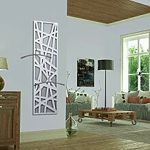 Wandgarderobe/Garderobe, Design Stripes, 140x40x2