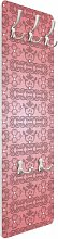 Wandgarderobe No.TA98 Antikes Muster Pink