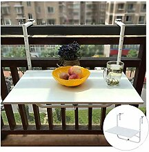 Wandgeländer Tisch Balkontisch Klappbarer