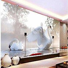 Wandgemälde, 3D-Tapete, Fenster, Dekoration