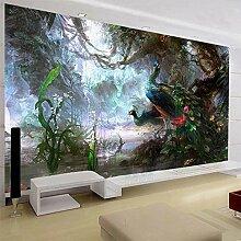 Wandgemälde, 3D-Tapete, Naturlandschaft, Schöne