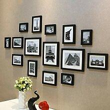 Wandhalterung display fotowand, galerie collage