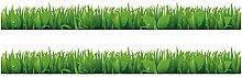 Wandkings Bordüre - Wähle ein Motiv - Gras mit