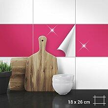 Wandkings Fliesenaufkleber - Wähle eine Farbe &